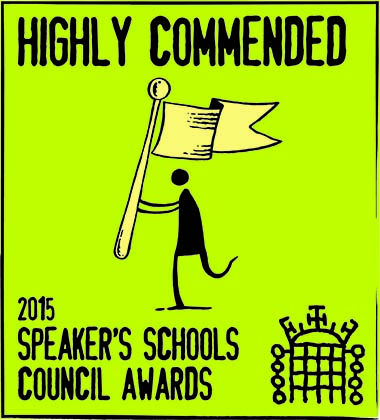 Highly commended badge 2015