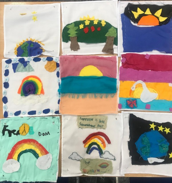 Year 5 Freedom Quilt Patches