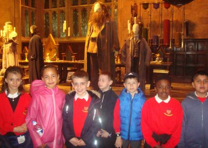 Year 4 trip to Harry Potter World