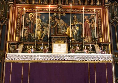 Hillborough visit St. Saviour's Church