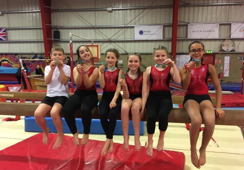 Congratulations to our gymnasts!