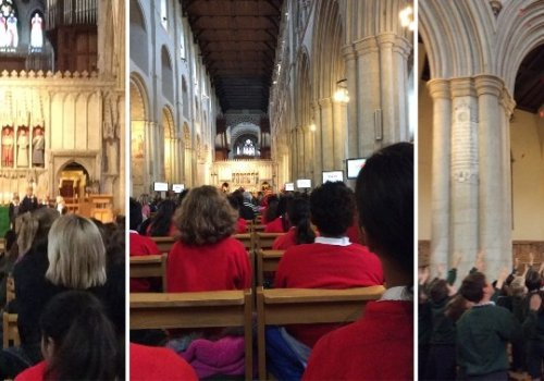 Year 6 Visit St. Albans Cathedral
