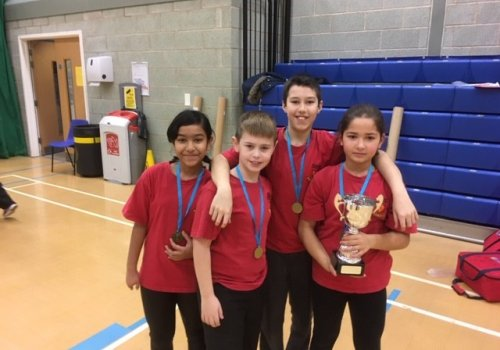 Hillborough Kurling Team become Town Champions!