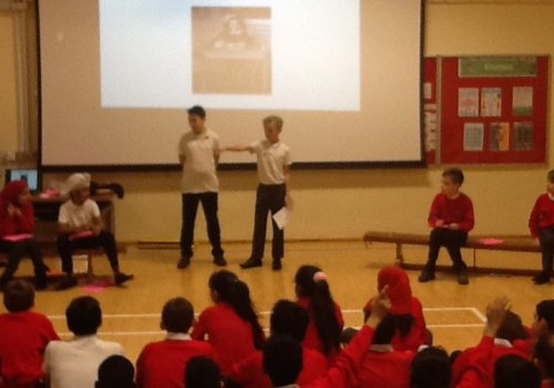Year 5 Anne Frank Assembly