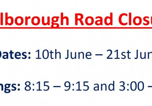 Hillborough Road Closure